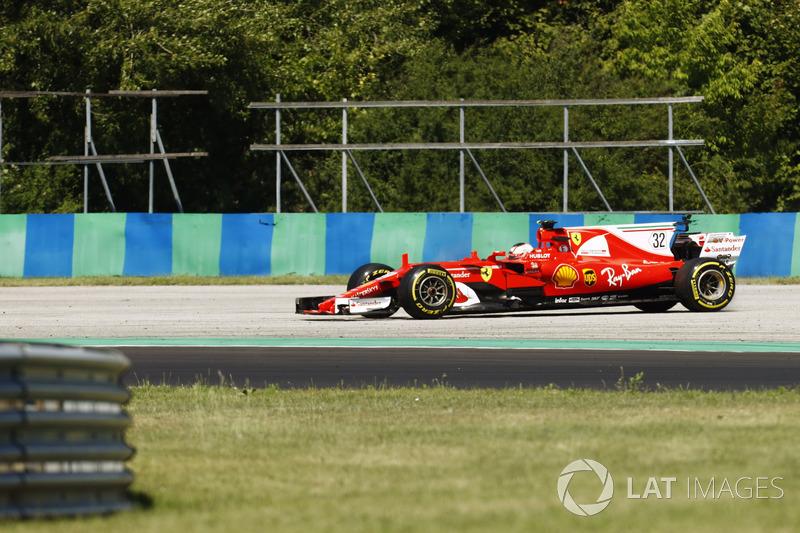 Charles Leclerc, Ferrari SF70H, off the circuit