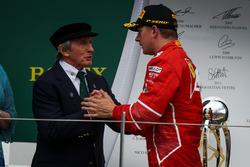 Jackie Stewart, Kimi Raikkonen, Ferrari