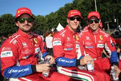 James Calado, Alessandro Pier Guidi, Michele Rugolo, , AF Corse