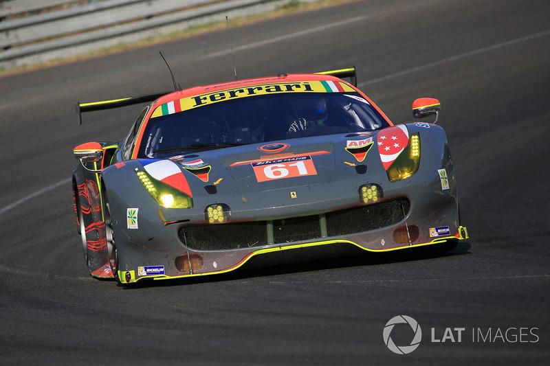 5. LMGTE-Am: #61 Clearwater Racing, Ferrari 488 GTE