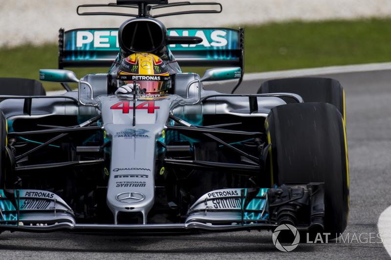 6. Lewis Hamilton, Mercedes AMG F1 W08