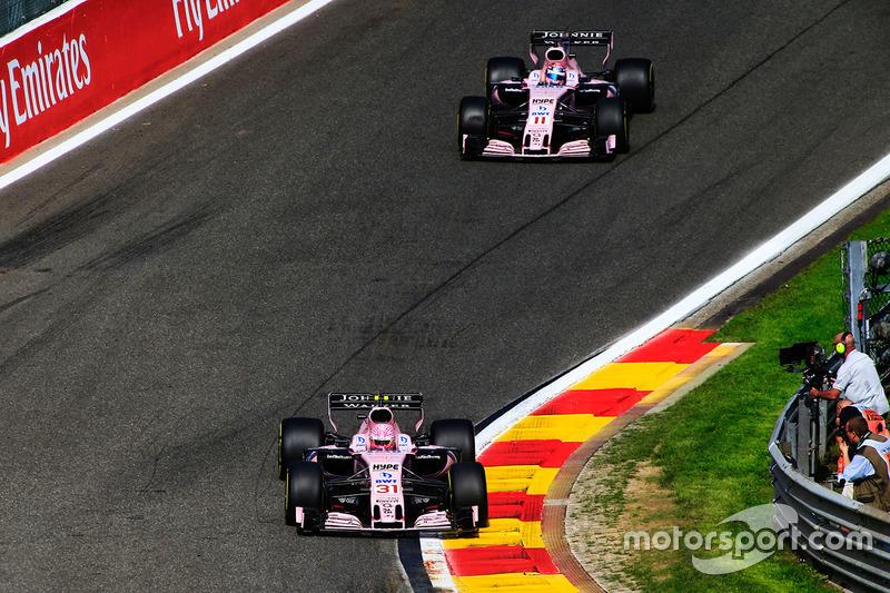A gota d'água veio no GP da Bélgica. Os dois pilotos colidiram por duas vezes, o que novamente custou pontos para a Force India.