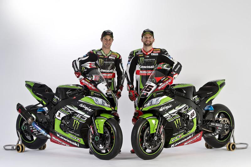 Jonathan Rea, Tom Sykes, Kawasaki Racing