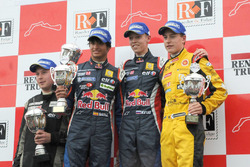 Podyum: 1. Daniil Kvyat, Koiranen GP, 2. Carlos Sainz Jr., Koiranen GP, 3. Stoffel Vandoorne, KTR