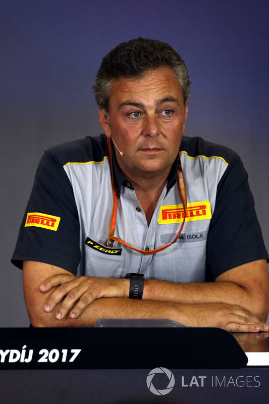Mario Isola, Pirelli-Motorsportchef