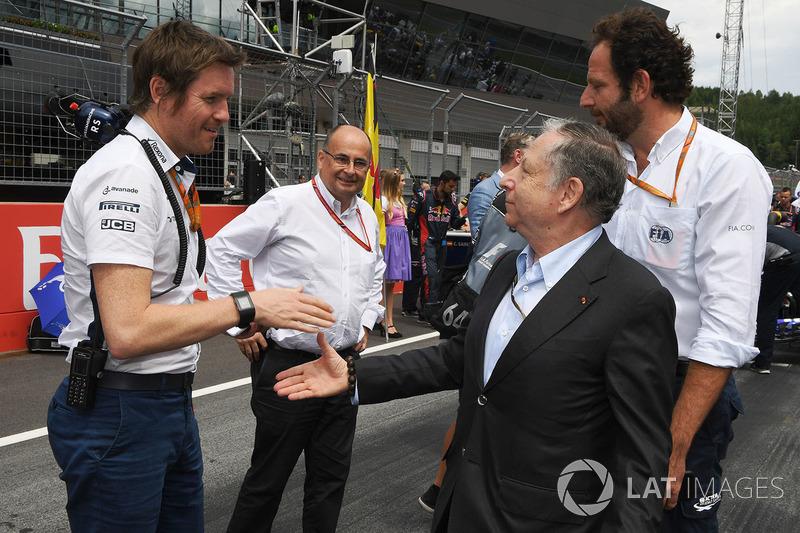 Роб Смедлі, керівник відділу розвитку Williams, Жан Тодт, президент FIA