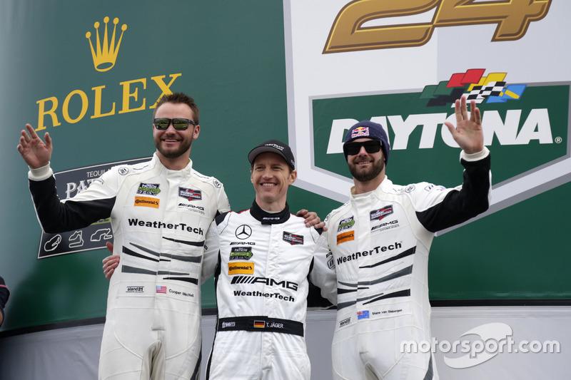 #50 Riley Motorsports Mercedes AMG GT3: Cooper MacNeil, Shane van Gisbergen, Thomas Jäger
