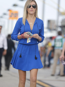 Katelyn Sweet, wife of Kyle Larson