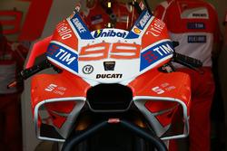 Neue Verkleidung am Bike von Jorge Lorenzo, Ducati Team