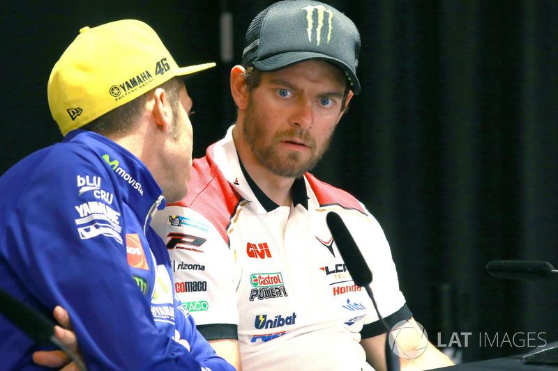 Прес-конференція, Yamaha Factory Racing, Кел Кратчлоу, Team LCR Honda