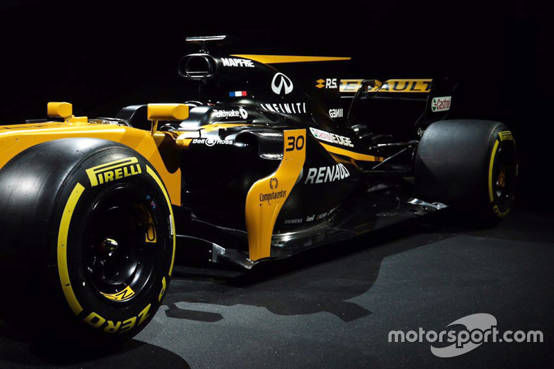 Renault Sport F1 Team RS17 detail