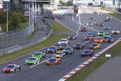 Start: #5 Belgian Audi Club Team WRT Audi R8 LMS: Marcel Fassler, Dries Vanthoor leads