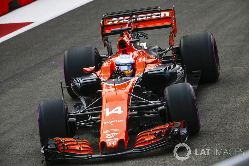 2017 : McLaren MCL32, à moteur Honda
