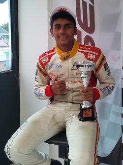 Third place Akash Gowda