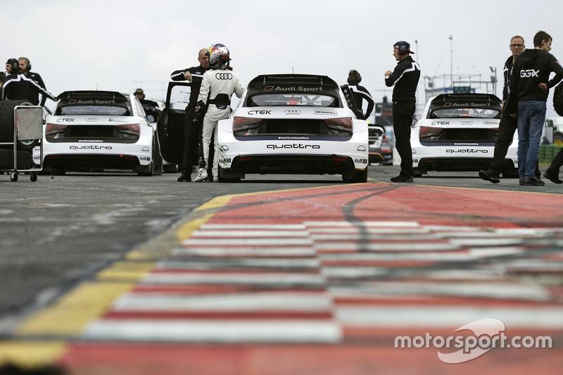 Mattias Ekström, EKS, Audi S1 EKS RX Quattro, Toomas Heikkinen, EKS, Audi S1 EKS RX Quattro, Reinis Nitiss, EKS, Audi S1 EKS RX Quattro