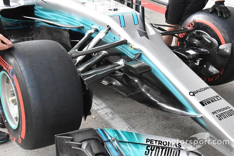Morro del Mercedes AMG F1 W08