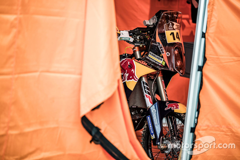 La moto de #14 Red Bull KTM Factory Racing: Sam Sunderland