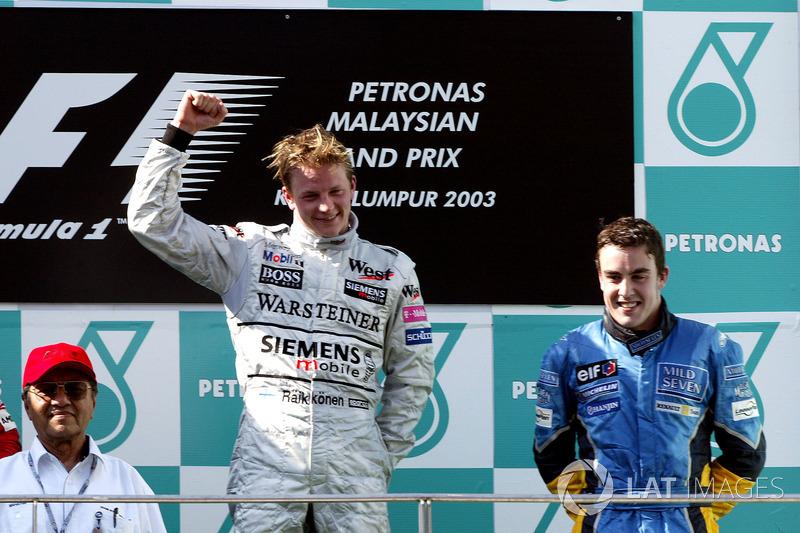 #6: Fernando Alonso, GP de Malasia 2003
