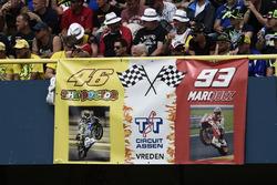 Fan von Valentino Rossi und Marc Marquez