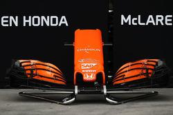 Ala delantera McLaren MCL32