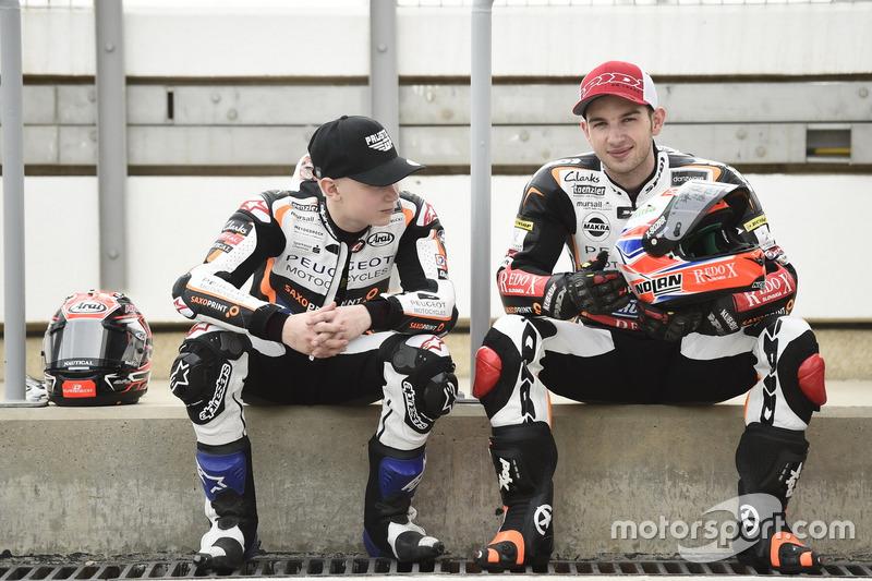 Patrik Pulkkinen, Peugeot MC Saxoprint; Jakub Kornfeil, Peugeot MC Saxoprint