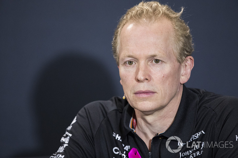Andrew Green, directeur technique, Force India