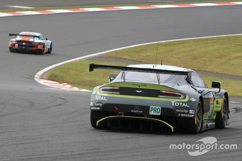 6. LMGTE Pro: #97 Aston Martin Vantage GTE: Darren Turner, Richie Stanaway