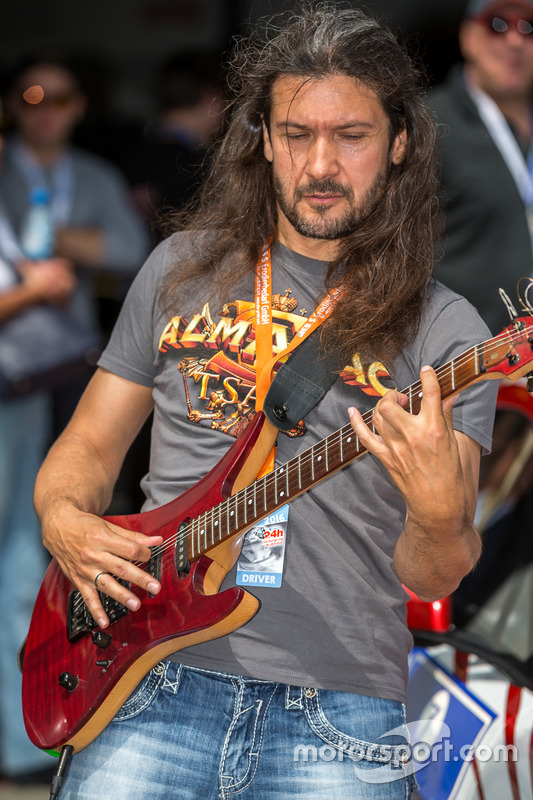 Driver and guitarist Victor Smolski