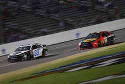 Jeffrey Earnhardt, BK Racing Toyota, Martin Truex Jr., Furniture Row Racing Toyota