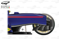 Red Bull RB12 chassis, side view
