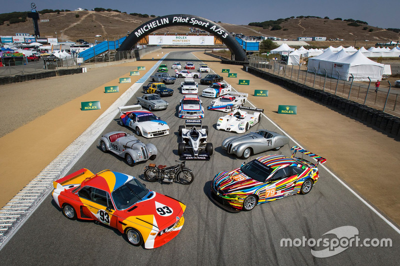 4. BMW sesión de fotos de coche de grupo