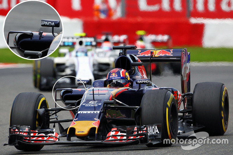 Carlos Sainz Jr., Scuderia Toro Rosso STR11 sidepod detay