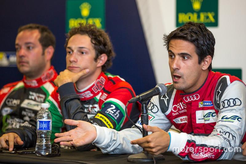 Lucas di Grassi, Bruno Senna, Luis Diaz
