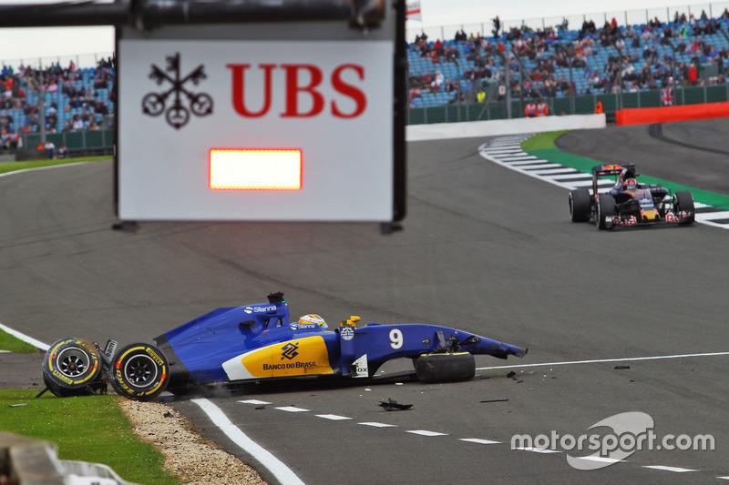 11. Marcus Ericsson, Sauber (GP de Gran Bretaña)