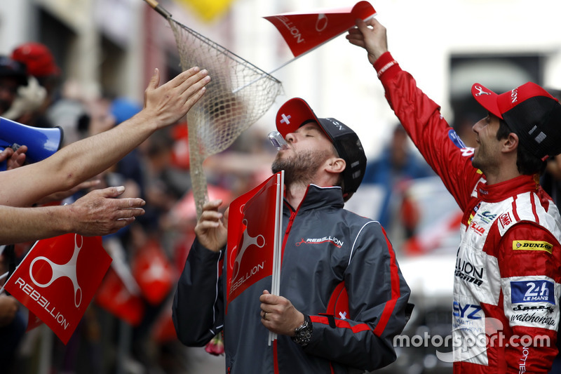 #12 Rebellion Racing Rebellion R-One AER: Nicolas Prost, Nick Heidfeld