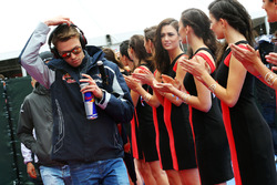 Даниил Квят, Scuderia Toro Rosso на параде пилотов