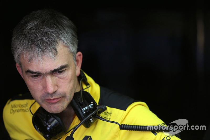 Nick Chester, Technikchef, Renault Sport F1 Team