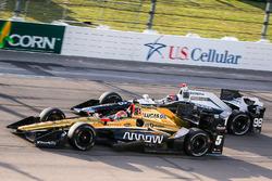 James Hinchcliffe, Schmidt Peterson Motorsports Honda, Alexander Rossi, Herta - Andretti Autosport Honda