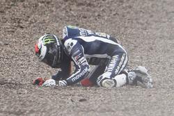 Хорхе Лоренсо, Yamaha Factory Racing crash