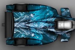 """""""Iceberg"""", Formula E, posteriore, superiore"""