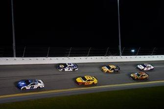 Alex Bowman, Hendrick Motorsports, Chevrolet Camaro Nationwide, Chase Elliott, Hendrick Motorsports, Chevrolet Camaro NAPA AUTO PARTS, Joey Logano, Team Penske, Ford Mustang Shell Pennzoil