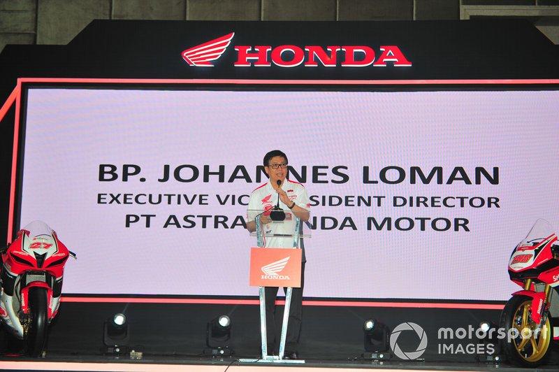 Johannes Loman, Executive Vice President Director PT Astra Honda Motor