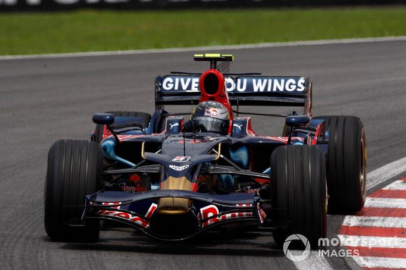2008: Toro Rosso-Ferrari STR3