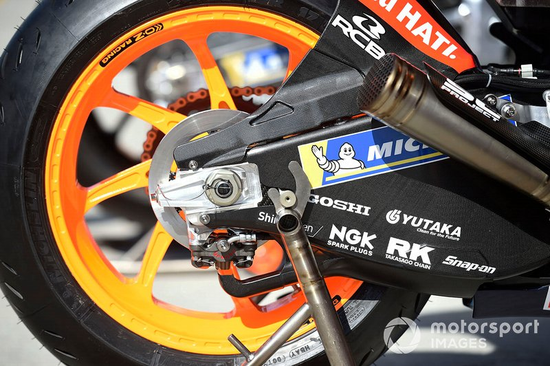 Repsol Honda Team bike detail