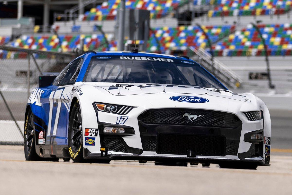 Chris Buescher, Roush Fenway Racing, Ford Mustang Nascar Next Gen