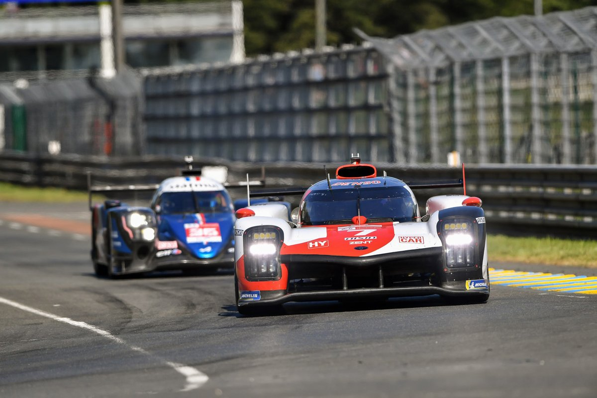 Alpine has entered a grandfathered LMP1 car in the Hypercar class, and receives a less-favourable BoP as a result