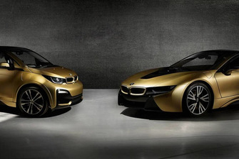 BMW i8 & i3 Starlight