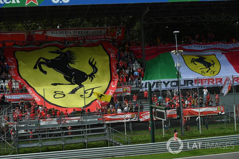 """Os """"tifosi"""" novamente fizeram um show à parte no GP da Itália de 2018"""