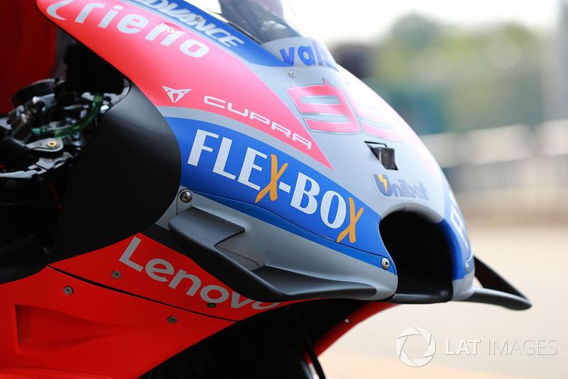 Detail fairing Ducati