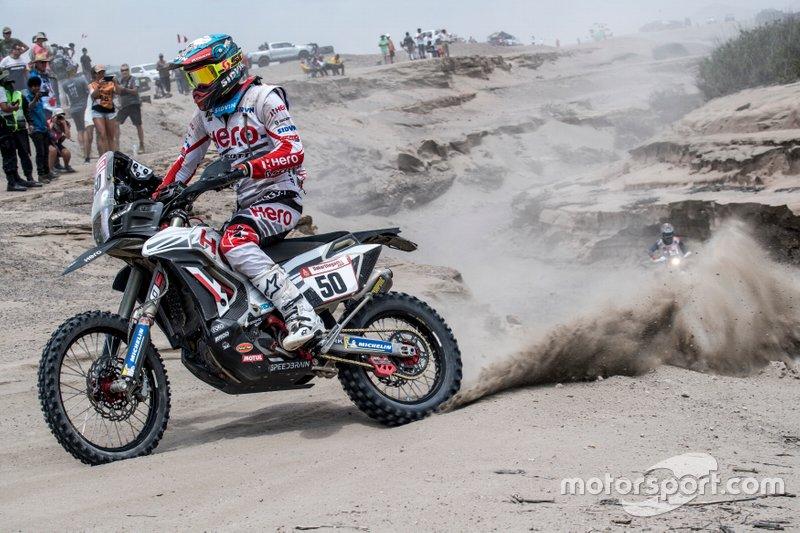 #50 HERO Motorsports Team Rally: Сі-Ес Сантош